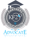 Keller Funnel Certification and Advocate in Education Seal